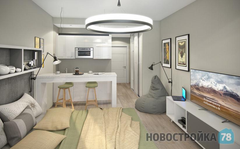 Апартаменты в ЖК Интуит